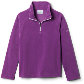 Columbia Glacial Fleece Half Zip Pullover Girls plum